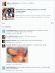 screencap με συζήτηση στην προσωπική σελίδα facebook του Nάσου Αθανασίου